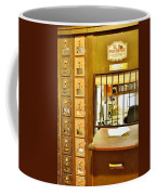 Antique Post Office Letter Boxes At The Boardwalk Plaza In Rehoboth Beach Delaware Coffee Mug