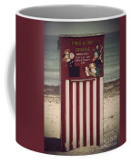 Antique Punch And Judy Coffee Mug