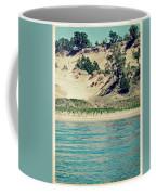 Antique Snapshot Series - Dunes On Lake Michigan Coffee Mug