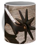 Antique Star Spur Coffee Mug