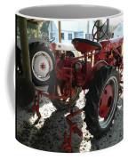 Antique Tractor Hiding In The Shadows Coffee Mug