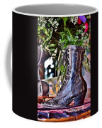 Antique Victorian Boots At The Boardwalk Plaza Hotel - Rehoboth Beach Delaware Coffee Mug