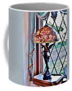 Antique Victorian Lamp At The Boardwalk Plaza - Rehoboth Beach Delaware Coffee Mug