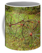 Antique Wagon Frame Coffee Mug