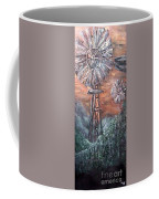 Antique Windmills At Dusk Coffee Mug