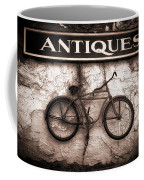 Antiques And The Old Bike Coffee Mug by Bob Orsillo
