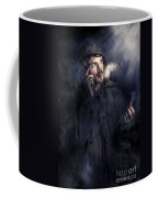 Anxious Australian Sas Soldier On Night Watch Coffee Mug