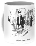 Anyone See My Saxophone Pin? Coffee Mug