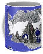 Apache Scouts Soldiers Living Quarters Location And Date Unknown  Coffee Mug