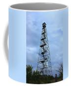 Apalachee Fire Tower In Morgan County Coffee Mug