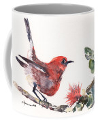 Apapane - Native Hawaiian Bird Coffee Mug
