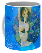 Aphrodite And  Cyprus Map Coffee Mug