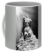Aphrodite Of Milos Styled Sand Castle Coffee Mug