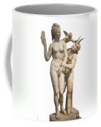 Aphrodite Pan And Eros Coffee Mug
