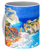 Aphrodite's Birth Place Coffee Mug by Augusta Stylianou