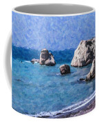 Aphrodites Rock Cyprus Coffee Mug