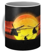 Apocalypse Now Coffee Mug by Mo T