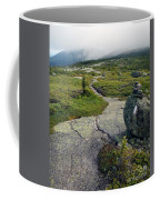 Appalachian Trail Mountain Path Saddleback Maine Coffee Mug