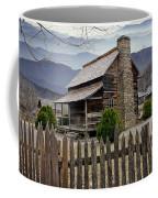 Appalachian Mountain Cabin Coffee Mug by Randall Nyhof