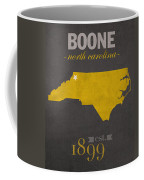 Appalachian State University Mountaineers Boone Nc College Town State Map Poster Series No 010 Coffee Mug