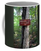 Appalachian Trail Sign North Coffee Mug