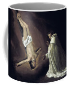 Apparition Of Apostle Saint Peter To Saint Peter Nolasco Coffee Mug