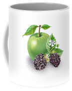 Apple And Blackberries Coffee Mug