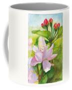 Apple Blossom And Buds Coffee Mug