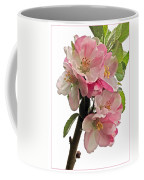 Apple Blossom Vertical Coffee Mug