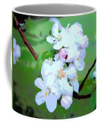Apple Blossoms In The Spring - Painting Like Coffee Mug