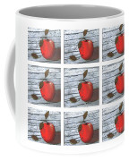 Apple Collage Coffee Mug