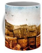 Apple Crates And Crows Coffee Mug