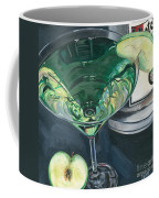 Apple Martini Coffee Mug by Debbie DeWitt