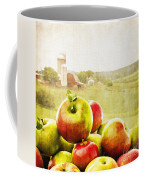 Apple Picking Time Coffee Mug by Edward Fielding