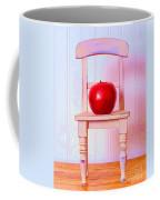 Apple Still Life With Doll Chair Coffee Mug by Edward Fielding