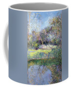 Apple Tree And Crescent Moon Coffee Mug