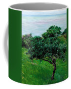 Apple Trees By The Sea Trouville Coffee Mug