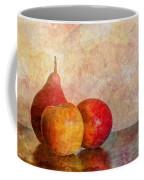Apples And A Pear Coffee Mug