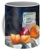 Apples And Oranges Coffee Mug by Mohamed Hirji