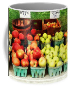Apples At Farmer's Market Coffee Mug