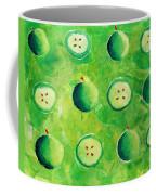Apples In Halves Coffee Mug