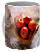 Apples On The Table Coffee Mug