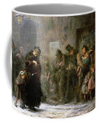 Applicants For Admission To A Casual Coffee Mug by Sir Samuel Luke Fildes