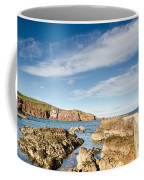 Approach To St Abbs Harbour Coffee Mug