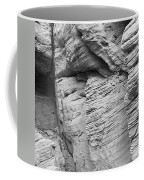 Approach To Tent Rocks Coffee Mug