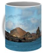 Approaching Bartolome Island Coffee Mug