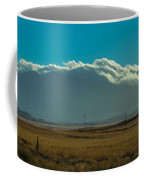 Grassland Approaching Humphreys Peak Coffee Mug