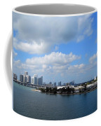 Approaching Miami Coffee Mug