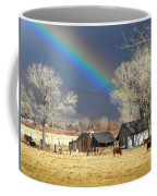 Approaching Storm At Cattle Ranch Coffee Mug