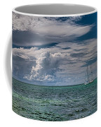 Approaching Storm At Whale Harbor Coffee Mug